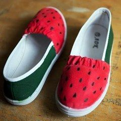 Diy Watermelon Shoes