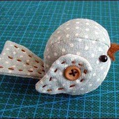 Easy Sewing Projects Of Stuffed Bird