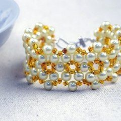 Free Jewelry Designs How To Bead Bracelets Out Of One Basic Pattern