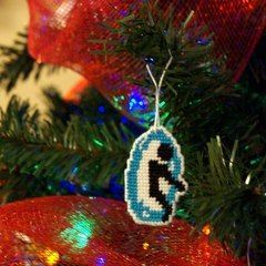 Blue Portal   Christmas Ornament By Gothic Misty