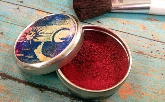 All Natural Handmade Powder Blush