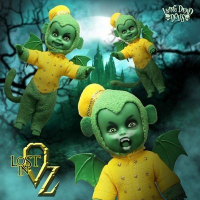 Medium lost in oz flying monkeys