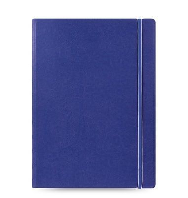 Medium filofax notebook a4 blue large
