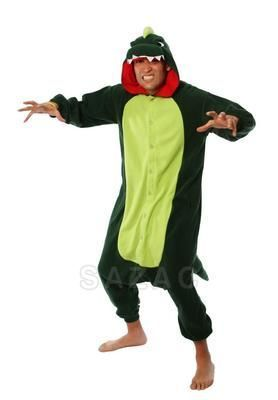 Medium dinosaur kigurumi