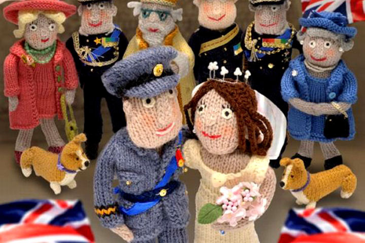 Knit Royal Wedding