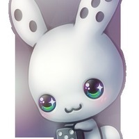 Large_square_domino_bunny_by_kawiko-d4pgdoo