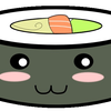 Normal square sushi kawaii by jorgicio