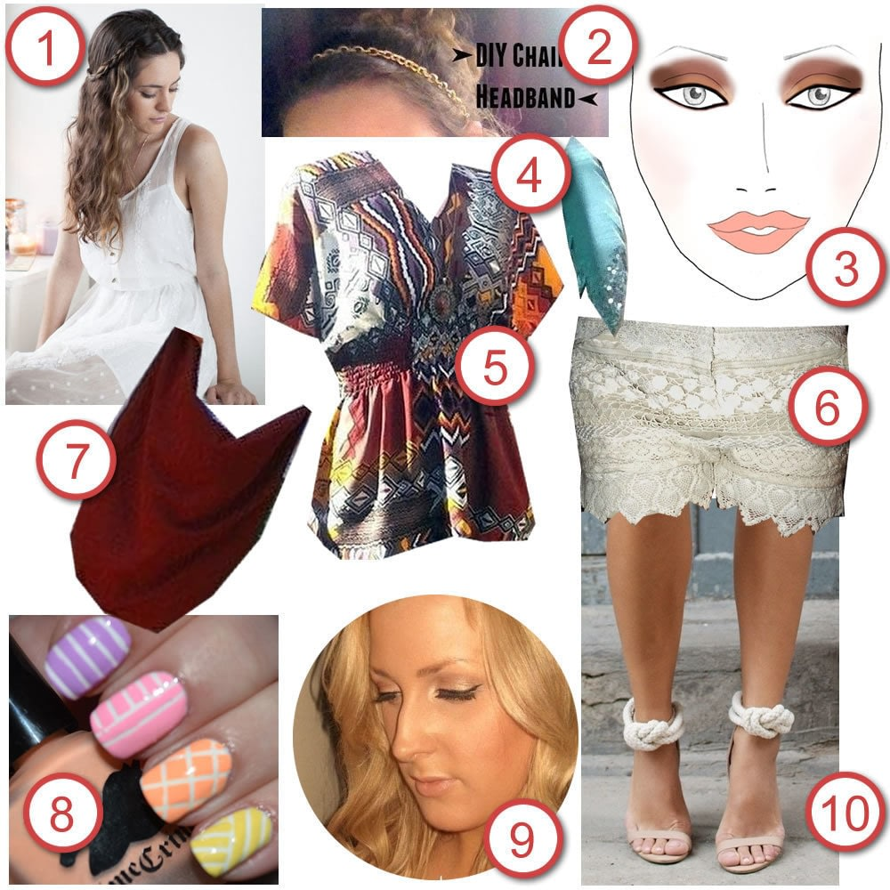 bohemian style blog boho style 183 diy the look 183 cut out keep craft 10118