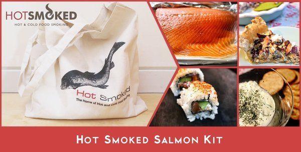 Smoked Salmon Kit from Hot Smoked
