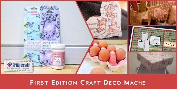 First Edition Craft Deco Maché from Trimcraft