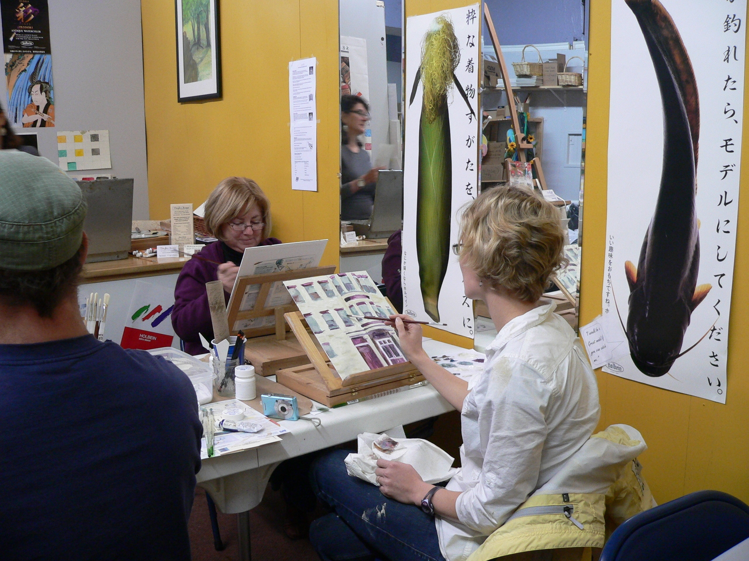 The art rooms professional art supplies shop showcase for Crafts classes for adults