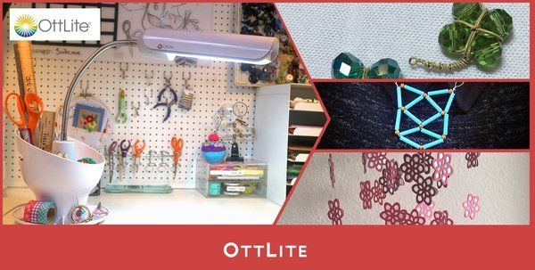 OttLite Craft Space Organizer