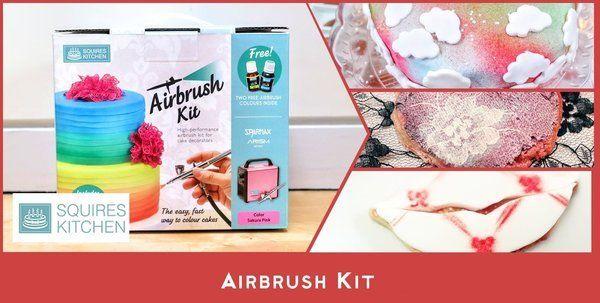 Squires Kitchen Airbrush Kit