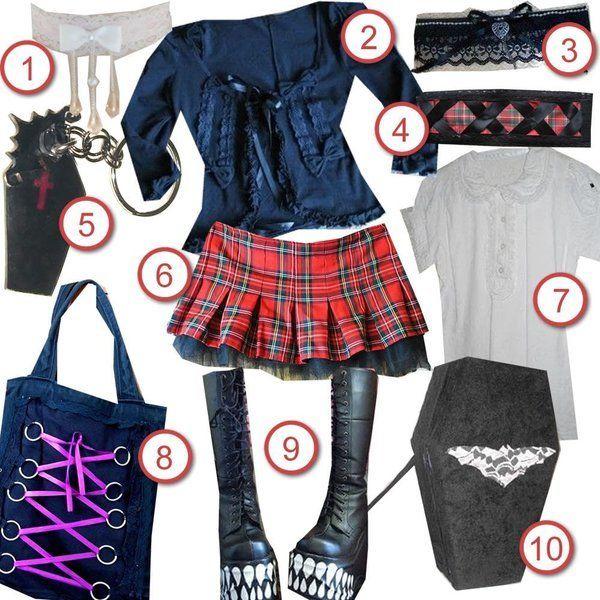 Y2K Goth Girl · DIY The Look · Cut Out + Keep Craft Blog