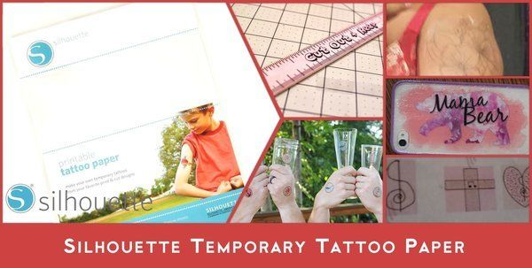 Temporary Tattoo Paper by Silhouette