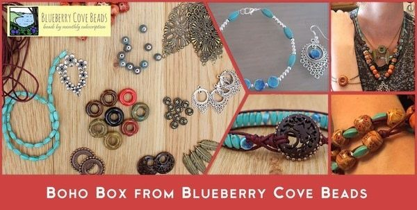 Boho Box from Blueberry Cove Beads