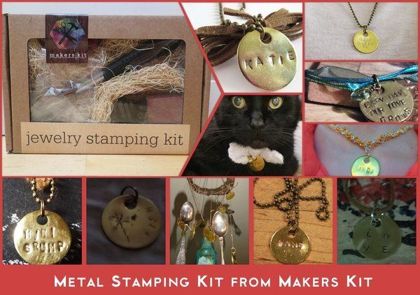 Jewelry Stamping Kit from Makers Kit