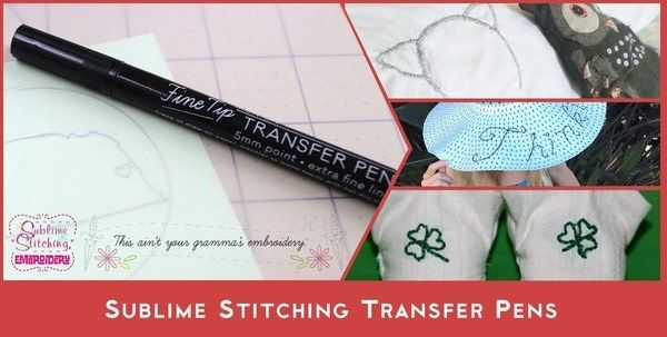 Sublime Stitching Transfer Pens