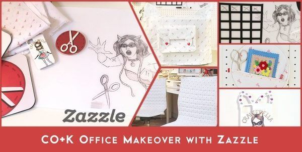 CO+K Office Makeover with Zazzle