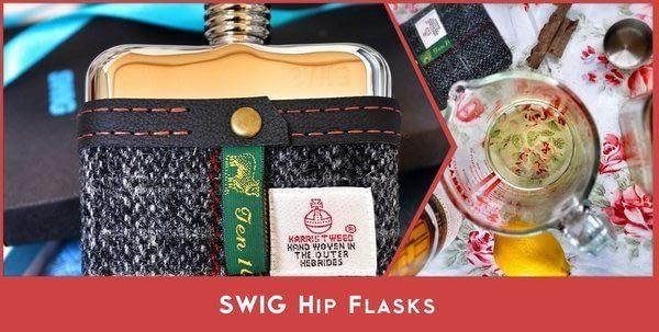 SWIG Hip Flasks