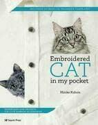 Embroidered Cat in My Pocket