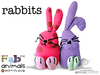 Small fabricanimals rabbits 1600x1200px 1320513577