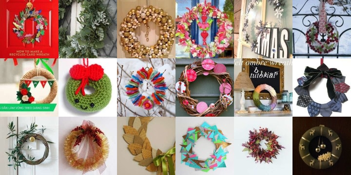 24 Wreaths to welcome in the festive season