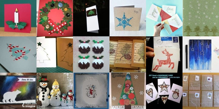 21 Cards to make for Christmas
