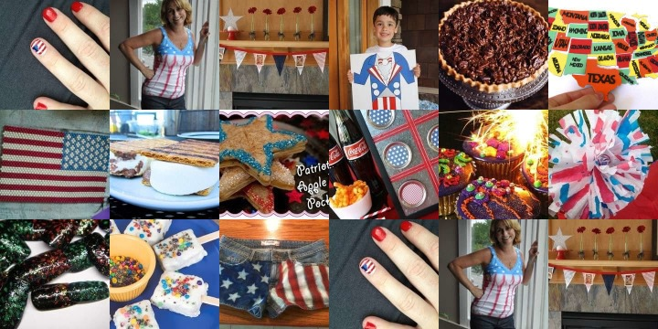 15 USA Crafts to make for the 4th Of July