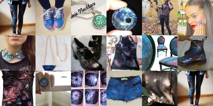 17 Galaxy print projects to send your wardrobe intergalactic