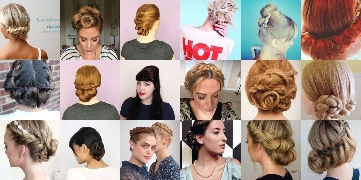 30 Updos to save a bad hair day