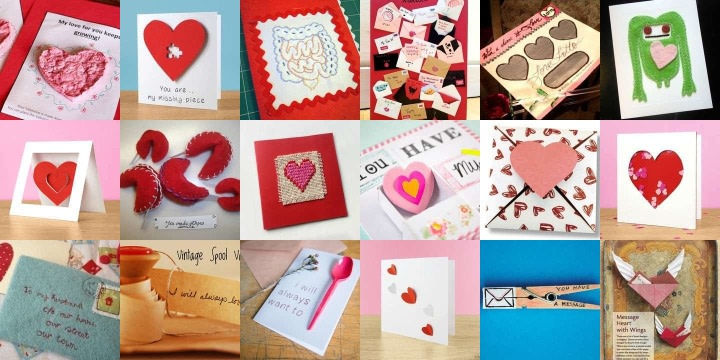 20 Loved up cards to make for your Valentine