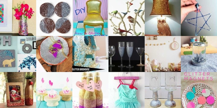 27 Glittering crafts to sparkle up your home