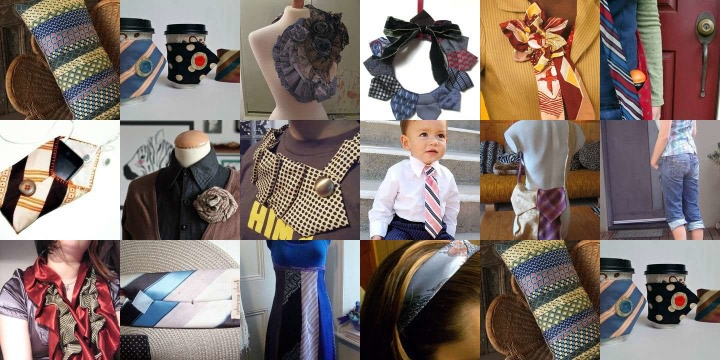 16 Crafty ways to recycle a Neck Tie