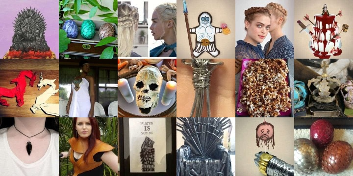 21 Game Of Thrones inspired crafts & recipes