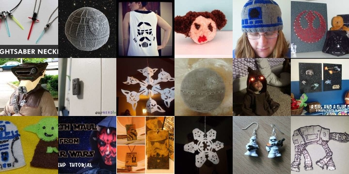19 crafts & recipes to make for Star Wars Day