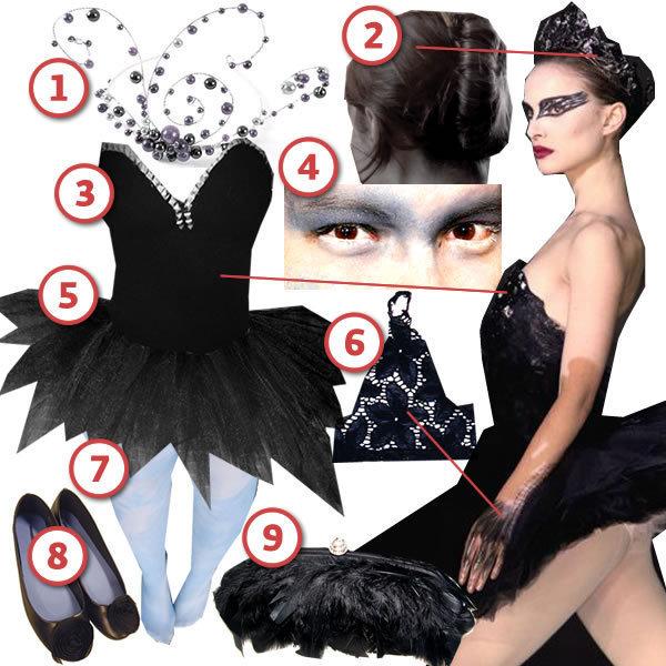The Black Swan DIY Look Cut Out Keep Craft Blog