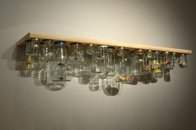 Medium jar shelf
