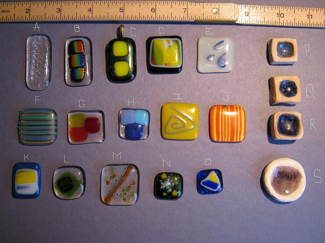 Fused glass pendants for sale for charity craft chat swaps the fused glass pendants medium pendants mozeypictures Choice Image