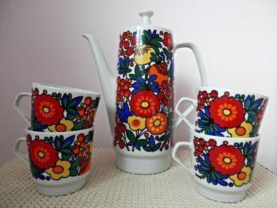 Medium made in german democratic republic coffee pot and cups