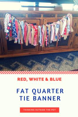 Medium fat quarter tie banner