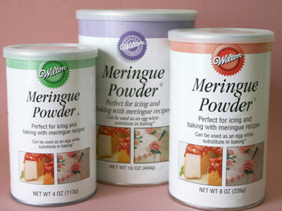 Medium meringue powder