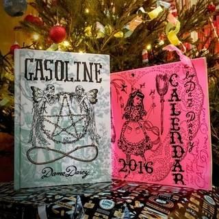Gasoline Book & 2016 Calendar