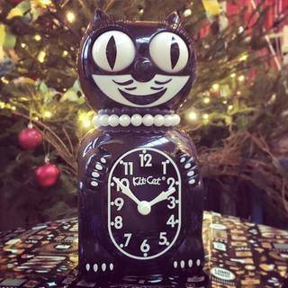 Lady Kit-Cat Clock