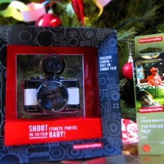 Baby Fish Eye camera & film