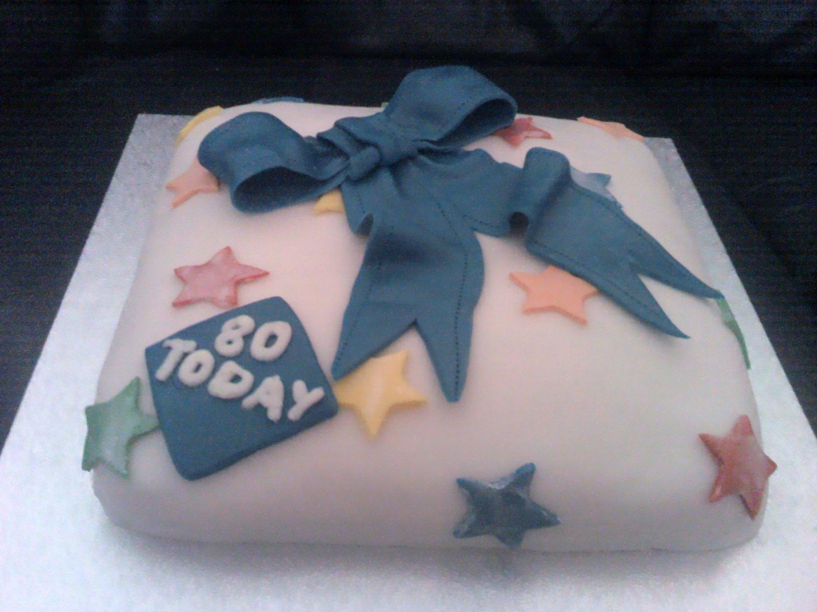 Groovy Present Birthday Cake A Seasonal Cake Baking And Food Funny Birthday Cards Online Chimdamsfinfo