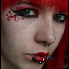 Shades Of Red Makeup