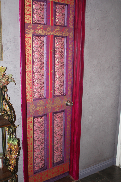 Decoupaged Door 183 Wall Decor 183 Art Decorating And