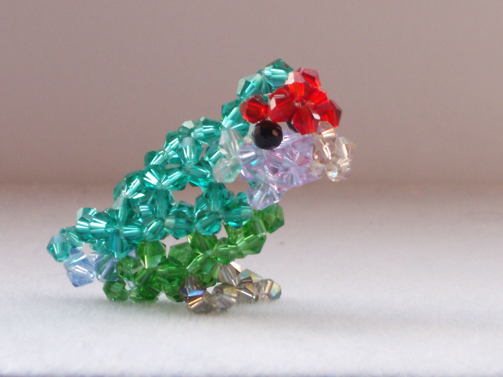 Beaded Animals 183 A Beaded Animal 183 Beadwork On Cut Out