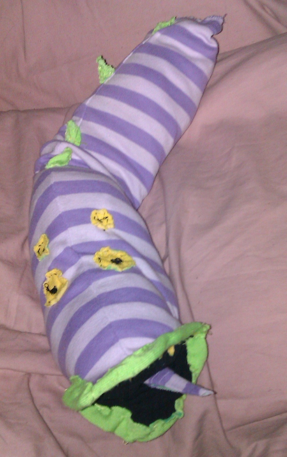My Squishy Beetlejuice Sandworm From The Animated Series A Worm Plushie Sewing On Cut Out Keep